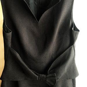 Size 8 David Meister  black dress